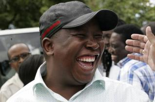 THUG: Malema also encouraged Zimbabweans to also take over white and foreign-owned companies