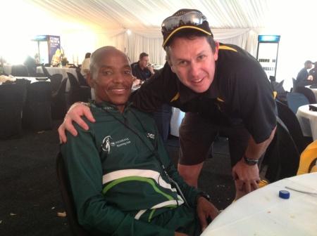 Comrades Marathon 2013, CLaude Moshiywa wins in 5.32