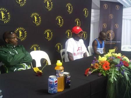 Claude Moshiywa, Comrades Marathon 2011