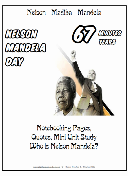 Free Download #NelsonMandela #67Minutes Celebrate His Life | St Aiden's Homeschool